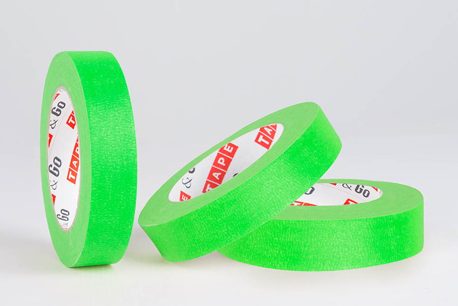 19mm x 33m zelena krep traka otporna na UV zrake namenjena za autoindustriju i spoljnu zaštitu