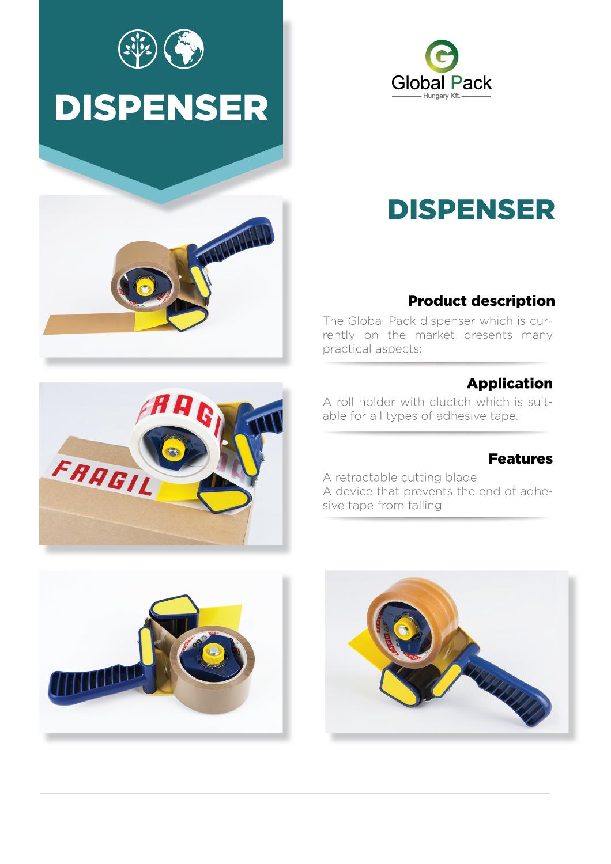 Packaging-Tape-dispenser