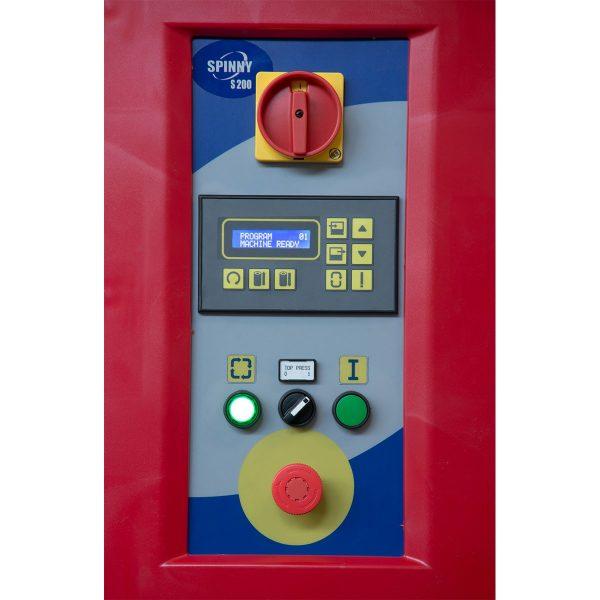 Poluautomatska mašina Spinny S200 Panel
