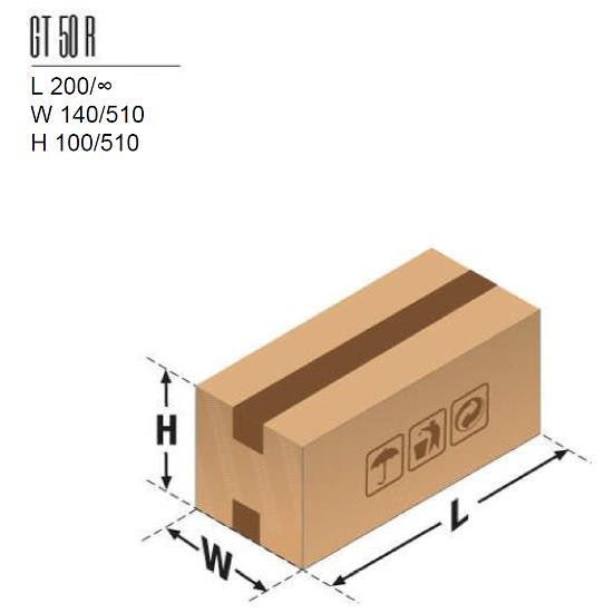 dimenzija kutije 50r