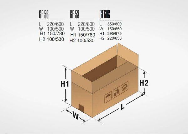 goldflex 56 dimenzije kutija
